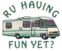 Rv Camping Free Clipart 1