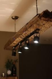 Mountain Haus Wood Beam Light Fixture Rustic LightingLighting IdeasIndustrial Track