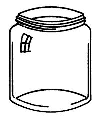 Glass Jar Coloring Pages