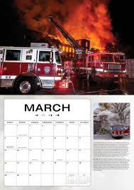 100 Fire Trucks Unlimited In Action 2020 16Month Calendar September
