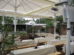 Solaira Patio Heaters by The Perfect Solution For Commercial Umbrella Heating