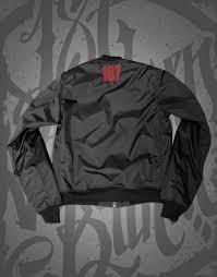 187 Strassenbande Bomber Jacke Black Red – 187 Strassenbande Shop