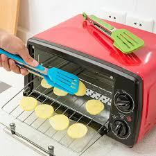 am silikon küche salat portion bbq zange edelstahl griff utensilien werkzeug