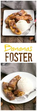 Bananas Foster SundaySupper That Skinny Chick Can Bake