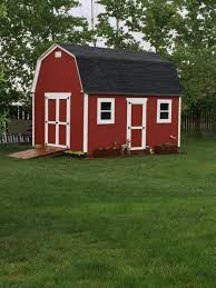 8x10 Saltbox Shed Plans by This Really Nice Shed Was Built By Paul Who Used My 12x16 Barn