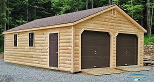 Pre Built Sheds Canton Ohio by 2 Car Prefab Garages Prefab Two Car Garage Horizon Structures
