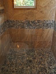 Sliced Pebble Tiles Uk by Black Pebble Tile Shower Floor Choice Image Home Flooring Design