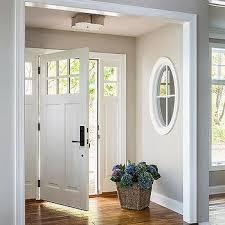 Foyer Nook With Basil Flush Mount