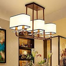 The New Chinese Modern Living Room Lamp Lighting Rectangular Restaurant Dining Bedroom Den Ceiling