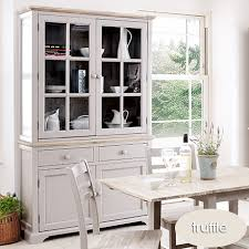 florence console table glass display cabinet dresser corner