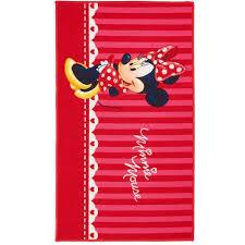 chambre minnie mouse tapis chambre minnie mouse 80x140 par unamourdetapis tapis