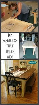 best 25 diy dining room table ideas on pinterest farm table