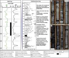 Trough Cross Bedding by The Coal Bearing Strata Of The Lower Cretaceous Mannville Group