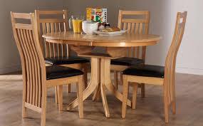 Circle Kitchen Table Set Dining Tables Appealing Rustic Round For 8