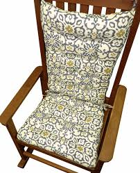 Souvenir Scroll Stone Grey Portuguese Tile Rocking Chair Cushions ... Fniture Nursery Rocking Chair For Appealing Your Design Cushion Cover Grey Polka Dot Patchwork Seat Covers Paula Deen Home Dogwood With Cushions Wayfair Weather Resistant Chairs Patio The Depot Diy How To Make An Easy Margot Rocker Instock Upholstered Chair Dutailier Store Patterned Monochrome Etsy Monet Rattan 84 Off Jonathan Adler Morrow Yellow And Dark Cb2 Saic Quantam In Charcoal Aptdeco Noble House Champlain Gray Wood Outdoor
