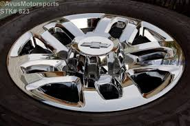 18 Inch Oem Chevy Truck Wheel