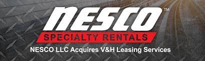 100 Vh Trucks NESCO LLC Announces Acquisition Of VH Inc Leasing Services