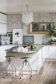 kitchen splendid exposed brick wall furniture picture exposed