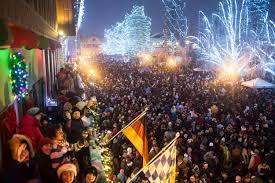 Leavenworth Christmas Lighting