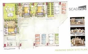 scad students transform an atlanta parking garage into