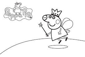 Sheets Coloring Pages Peppa Pig 26 In For Adults With