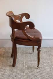 elégant chaise de bureau antique chaise de bureau antique an acajou