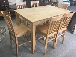 Scenic Pub Tables And Chairs For 6 Set Table Decor Old ...