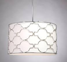 modern drum pendant shade light beautiful mid century large abreud