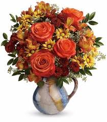Autumn Thanksgiving Flowers Centerpieces At Mancusos Florist