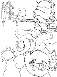 Zoo Animal Coloring Pages For Kids