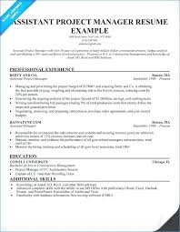 Construction Project Manager Resume Samples Reentering The Workforce Examples Of Resumes Electrical