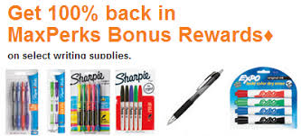 Free Sharpie Expo and Other Pens After fice Max Reward