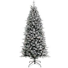 C15 7ft Pre Lit Wainwright Flocked Christmas Tree
