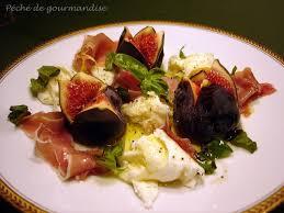 cuisiner figues fraiches salade au jambon cru et figues fraîches vinaigrette miel et citron