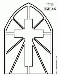 Awesome Cross Coloring Pages Image 3