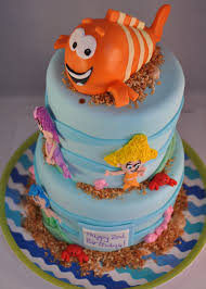 Bubble Guppies Cake Toppers by Bubble Guppies U2013 Piper Cakes