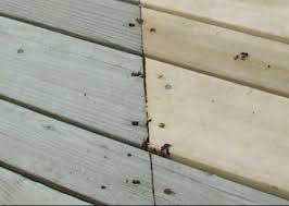 Wood Decking Boards by How To Blend New And Old Deck Boards Best Deck Stain Reviews Ratings