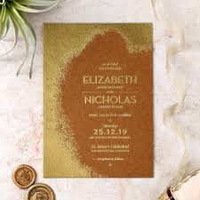 Dusted Glamour Wedding Invitation Design