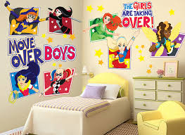 dc super hero girls wall decals and wall graphics shop wall ah