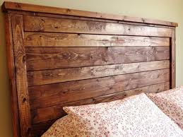 stylish queen size wood headboards ana white reclaimed wood