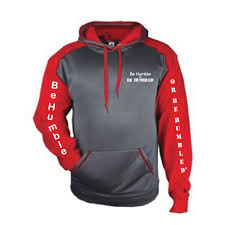 badger sport hoodie be humble or be humbled