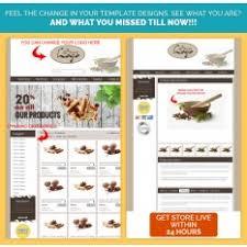 Spice Theme EBay Listing Description Template Store Designs