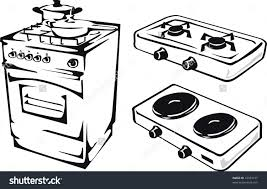 Stove Clipart Simple Gas Png Stock
