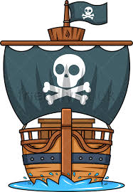 100 Design A Pirate Ship Front View Of