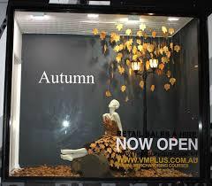 Autumn Window Display VM Training Bribane Australia Pinned By Ton Van Der Veer