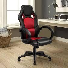 US 7499 Giantex Modern Office Chair Racing High Back Gaming Chair Ergonomic Computer Desk Armchair Office Furniture HW54590RE On Aliexpresscom