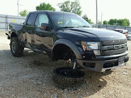 Salvage 2010 Ford F150 SUPER Truck For Sale