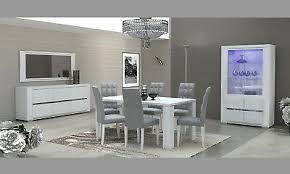 wohnzimmer set esszimmer komplett weiß hochglanz
