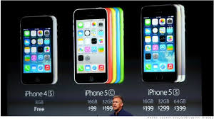 Apple Introduces New iPhones iOS7