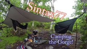 Hammock Camping the Linville Gorge 4 Day Backpacking Trip